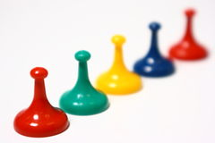 Game Pieces Royalty Free Stock Photography