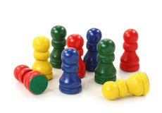 Game pieces Stock Photography