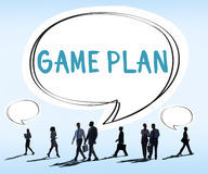 Game Plan Strategy Tactic Planning Vision Concept Stock Photography