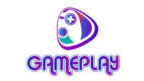 Game-play logo design vector. Game play logo design vector eps file Royalty Free Stock Image