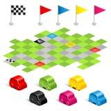 Game racing Royalty Free Stock Photo