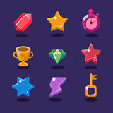 Game resources icons Stock Photos