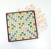 Game scrabble Stock Photos