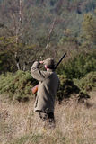 Game shoot. In Northumberland England royalty free stock image