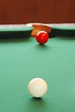 Game of snooker Royalty Free Stock Photo
