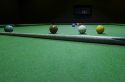 Game snooker sport stock photo