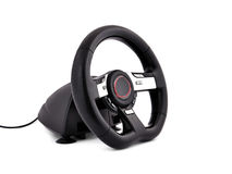 Game steering wheel Royalty Free Stock Photography