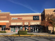 Game Stop and Kay Jewelers stores Stock Photography