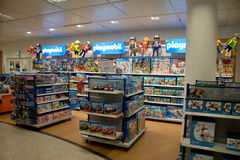 Game store for kids Royalty Free Stock Photo