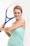 Game of tennis Stock Photos