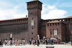 Game of Thrones, Milan 2017. Inside the Sforzesco Castle, on July 15 and 16, 207, a whole Game of Thrones weekend is held in Milan, with the event `The Throne of royalty free stock photos