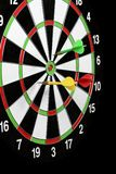 Game throwing darts at the target Stock Photography