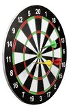 Game throwing darts at the target Royalty Free Stock Photography