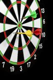 Game throwing darts at the target. A Stock Images