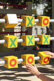 Game Tic Tac Toe Stock Image