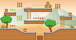 Game tileset 22 Royalty Free Stock Photos