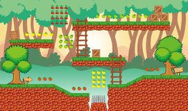 Game tileset 31 Royalty Free Stock Images