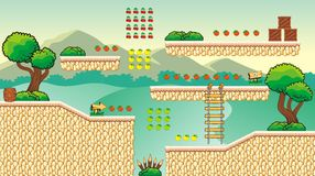 Game tileset 33 Royalty Free Stock Images