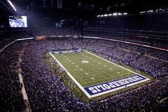 Game Time at Lucas Oil Stadium Royalty Free Stock Photos