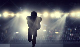 It is game time. Mixed media Royalty Free Stock Photography