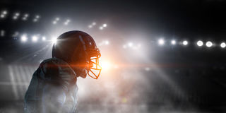 It is game time. Mixed media Stock Images