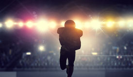 It is game time. Mixed media Stock Photography