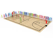 Game time. Privacy-attack in basketball. №2 Stock Images
