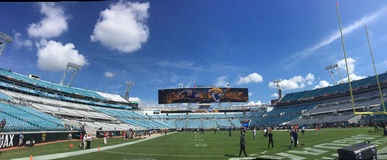 Almost Game Time (Panoramic) Stock Photo