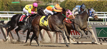 Game Token Wins an Allowance Race Royalty Free Stock Image