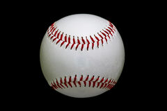 Game Used White Baseball Royalty Free Stock Image
