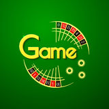 Game vector logo Stock Photography