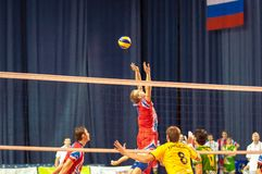 The game of volleyball Royalty Free Stock Image
