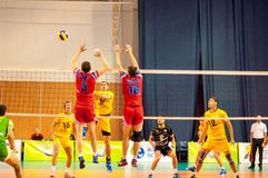 The game of volleyball Royalty Free Stock Photo