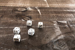 Game on Wood Stock Photography