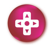 Gamecontroller Button Lizenzfreie Stockfotografie