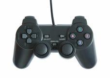 Gamecontroller lokalisiert auf weißem Hintergrund lizenzfreie stockfotografie