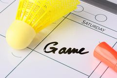 Gameday Royalty Free Stock Photos