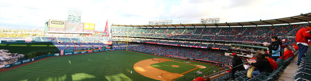 Gameday at Angels stadium Royalty Free Stock Photo