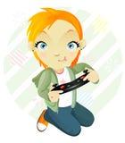 Gamegirl. Marimacho. Imágenes de archivo libres de regalías