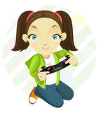 Gamegirl. Tomboy #2 Stock Photo