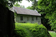 Gamekeeper's lodge Mon Repos in Little Carpatians mountains Royalty Free Stock Photo