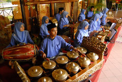 Gamelan Photographie stock