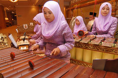 Gamelan fotografia stock