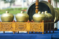 Gamelan Musikinstrumente Stockbilder