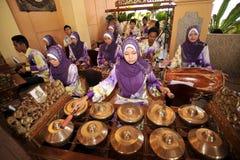 Gamelan - Traditional Malay Music Stock Image