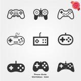 Gamepad控制器象 免版税库存图片