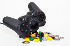 Gamepad Stockbild