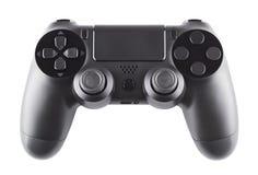 黑色gamepad 免版税库存图片