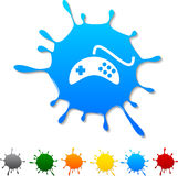 Gamepad  blot. Royalty Free Stock Images