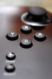 Gamepad buttons Royalty Free Stock Photography